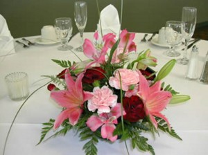 centrepiece flower arrangement