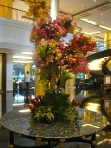 hotel flower design 1
